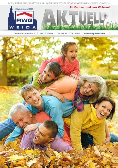 Mieterzeitung AWG-Weida 2018